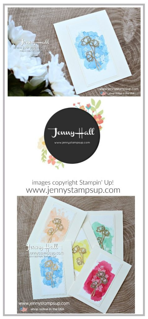 2018 In Color cards created by Jenny Hall at www.jennystampsup.com for #cardmaking #stamping #stampinup #2018incolors #watercolorpainting #jennyhall #jennyhalldesign #jennystampsup #crafts #lovewhatyoudo #sharewhatyoulove kidfriendlycraft #christiancraft #embossonvellum #watercolorwash #videotutorial #youtuber #craftyyoutube #blueberrybushel