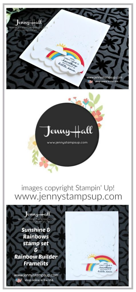 Autism Matters Blog Hop card created by Jenny Hall at www.jennystampsup.com for #cardmaking #autismmatters #stampinforautism #sunshine&rainbowsbundle #jennyhall #jennyhalldesign #jennystampsup #jennyhallstampinup #autismsupport #stamping #stampinup #bloghop #autismfacts