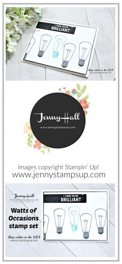 Autism Awareness Blog Hop card created by Jenny Hall at www.jennystampsup.com for #cardmaking #stamping #stampinup #autismawarenessbloghop #autismmatters #autismawareness #jennyhall #jennyhalldeisgn #jennystampsup #wattsofoccasions #easystamping #lightitupblue