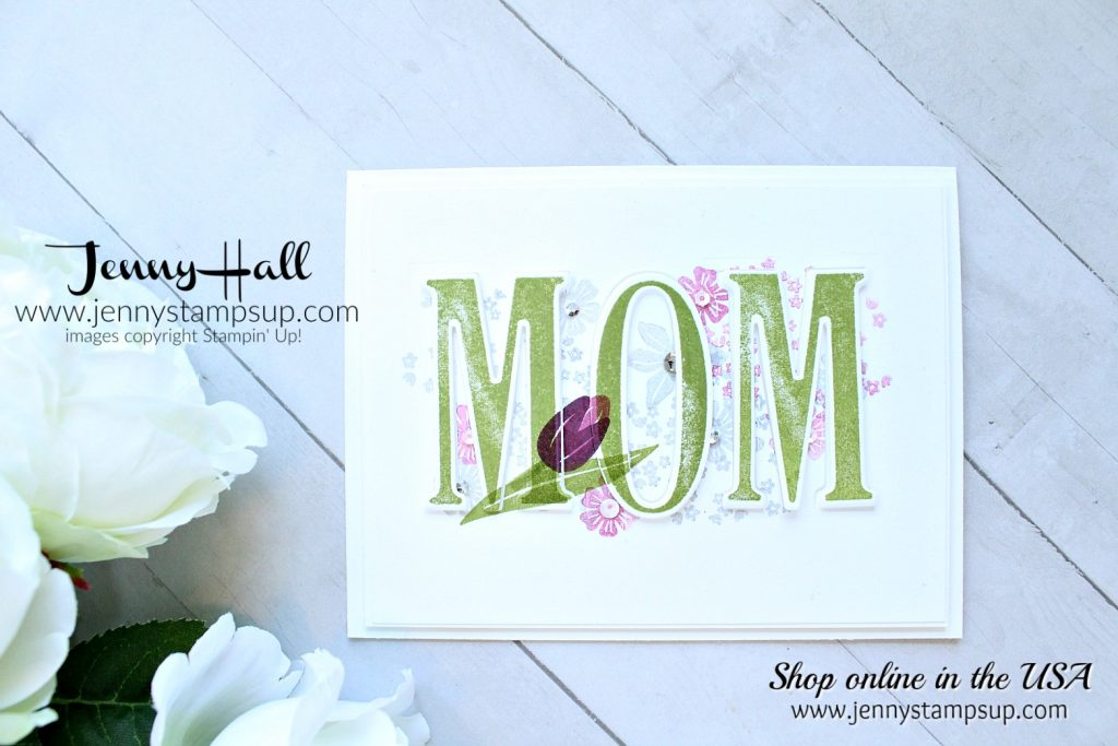 May Creating Kindness Blog Hop card created by Jenny Hall at www.jennystampsup.com for #cardmaking #stamping #stampinup #videotutorial #eclipsetechnique #mothersdaycard #largeletterframelits #papercrafting #lifestyle #crafts #youtuber #jennyhall #jennyhalldesign #jennyhallstampinup #jennystampsup #bloghop #cardmaker #handmade #diy