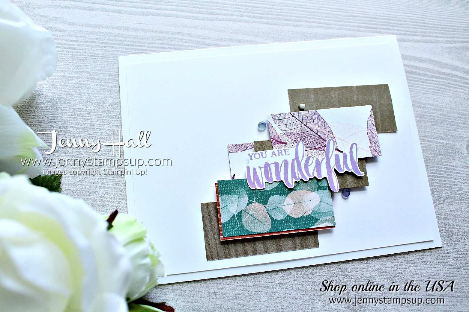 May Ink & Inspiration Blog Hop card created by Jenny Hall at www.jennystampsup.com for #cardmaking #ink&inspiration #bloghop #stamping #stampinup #jennyhall #jennystampsup #jennyhallstampinup