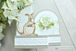 Animal Outing fancy fold card
