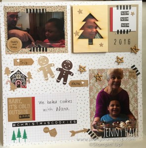 2016 scrapbook page