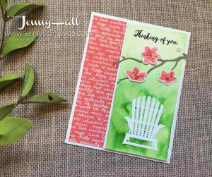 Colorful Seasons by Jenny Hall at www.jennystampsup.com