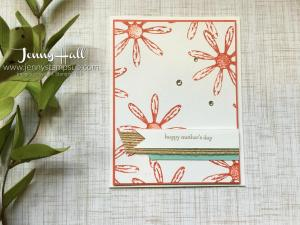Daisy Delight by Jenny Hall at www.jennystampsup.com