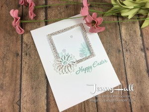 Easter Message by Jenny Hall www.jennystampsup.com