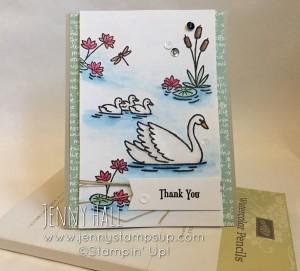 Swan Lake stamps