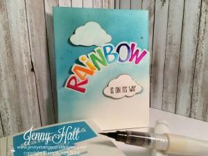 Rainbow Challenge card